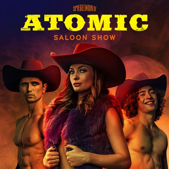 Atomic Saloon Show Grand Canal Shoppes
